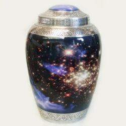 galaxy urns - aluminum