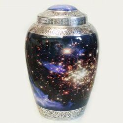 alluminium urns, rare impex
