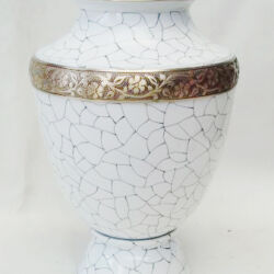 abstract brass urns